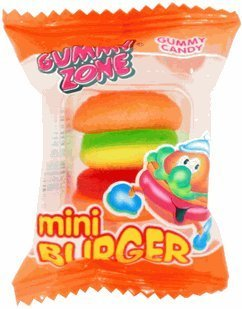 Gummy Burgers 60CT Box