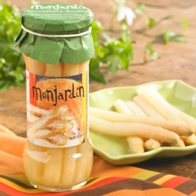 Monjardin Organic White Asparagus Spears (Drained wt: 7.2 oz/205 g)