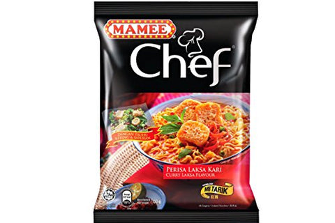 Chef Instant Noodles (Curry Laksa Flavor) - 2.82oz (Pack of 1)