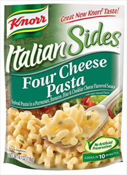 Knorr Italian Sides Four Cheese Pasta 4.1 oz