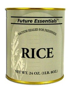 1 Can of Future Essentials Canned Long Grain White Rice #2.5 Can