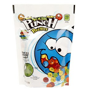 Sour Punch Punchies 8 oz stand up bag