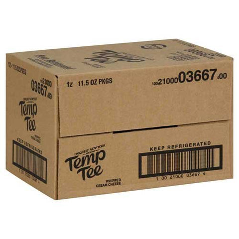 Breakstones Temp Tee Whipped Cream Cheese, 11.5 Ounce -- 12 per case.