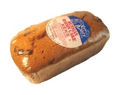 (pack of 2) Russian Loaf Raisin Cake Keks 22 oz