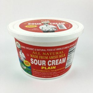 Ecomeal, Amish Sour Cream, Plain