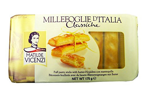 Matilde Vicenzi - Italian Puff Pastry Sticks - 175g (pack of 2)