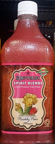 Republic Spirit Blends Prickly Pear Mixer 33.8 fl oz (Pack of 2)