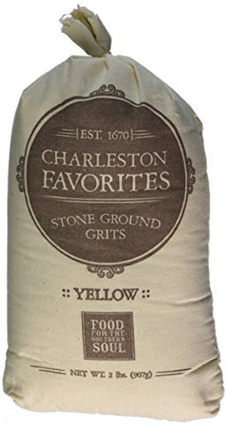 Charleston Favorites Stone Ground Grits - Yellow 2 Lbs