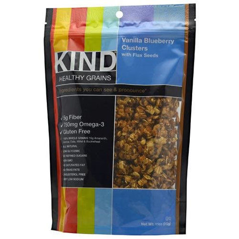 Kind Healthy Grains Vanilla Blueberry Flaxseed 11oz (pack of 6)