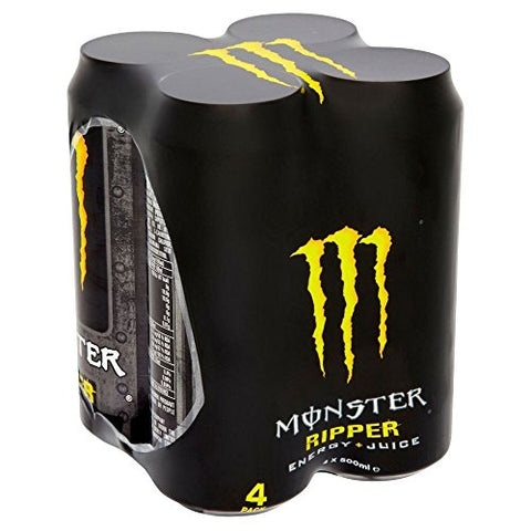 Monster Ripper Energy Drink (4x500ml)