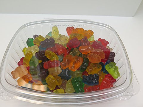Albanese 12 Flavor Gummi Bears 14 oz Fresh Candy (From Candy World)
