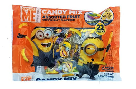 Despicable Me Minions Halloween Candy Mix, 22 Count - 2.95oz