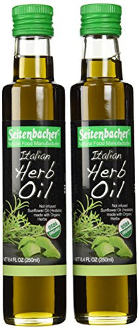 Seitenbacher Italian Herb Oil, 8.4-Ounce, 2 Count