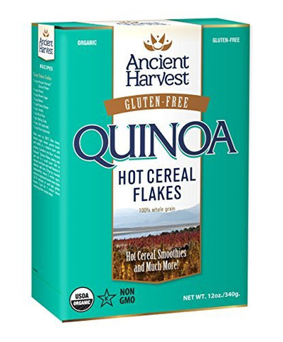 Ancient Harvest Quinoa Flakes, Organic and Gluten Free, 12 oz Boxes