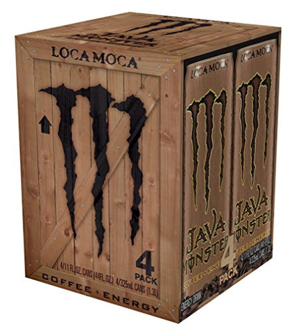 Java Monster Loca Moca Cans, 11 fl oz, 4 ct