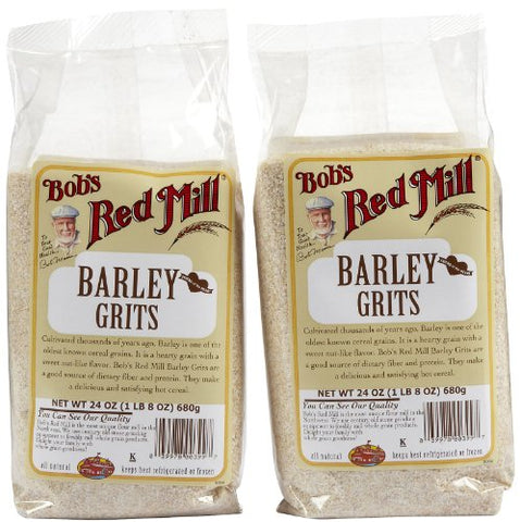 Bob's Red Mill Barley Grits/Meal - 24 oz - 2 pk
