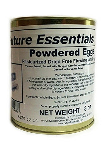 Future Essentials Canned Powdered Eggs #2.5 Can (8 oz)