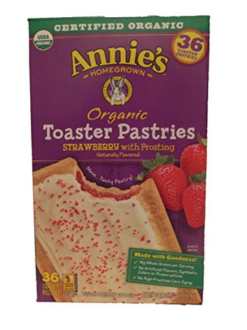 Annie's organic toaster pastries
