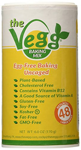The Vegg: Vegan Egg Replacer Baking Mix 6 Oz (2 Pack)