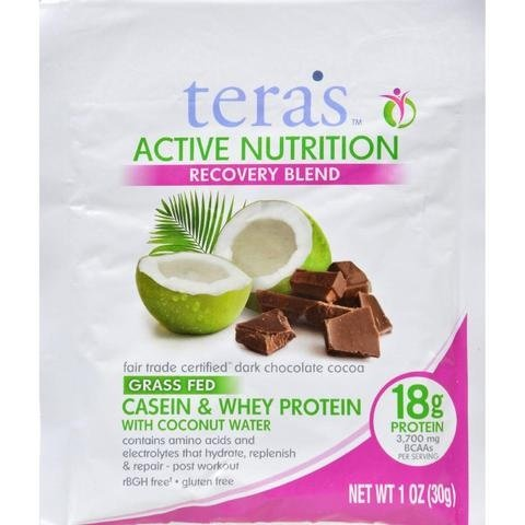Tera's Active Nutrition Recovery Blend Bourbon Vanilla (12x1 OZ)