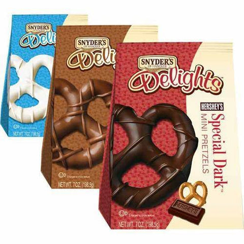 Snyder's Delights 7oz Bag (White Chocolate) 4-Pack