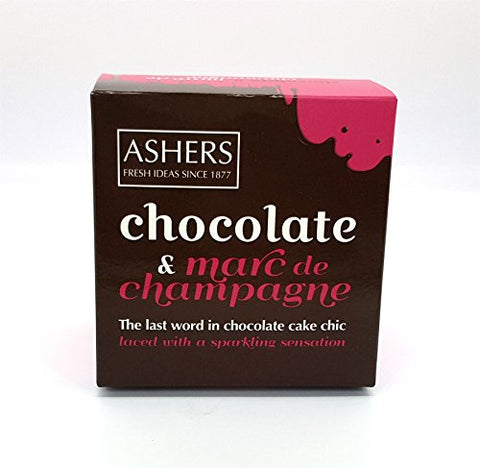 Ashers Marc de Champagne Chocolate Cake