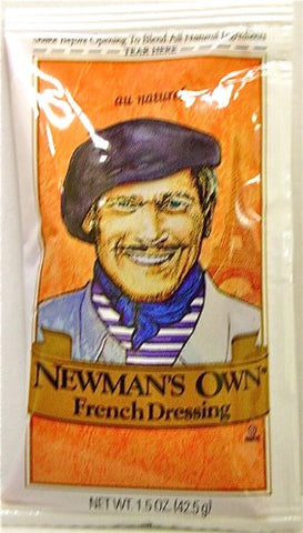 Newman's Own French Dressing, 10 - 1.5oz packs