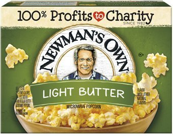 Newman's Own Microwave Popcorn Light Butter - 10.5 oz.