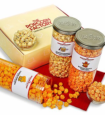 3-Canister Gift Sets - 3-Canister Cheese Lover's Assortment