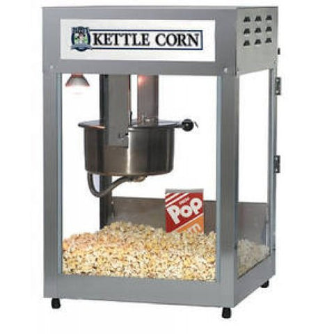Gold Medal Kettle Corn Pop Maxx Popcorn Machine, 12/14 Oz. Uni-Maxx Kettle #2552KC