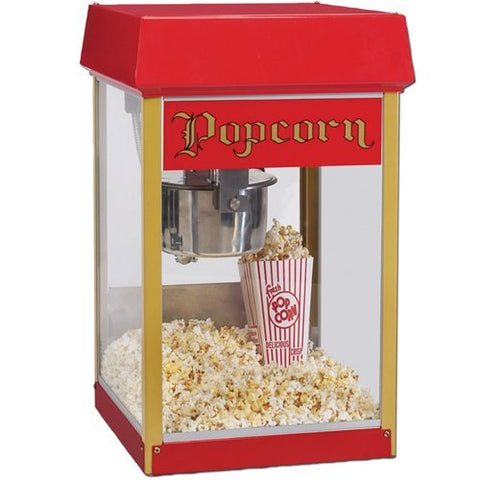 Gold Medal 2404 Red Fun Pop 4 oz. Popcorn Popper