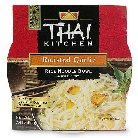 Thai Kitchen Rice Noodle Bowl, Roasted Garlic 2.4 oz (68 g)