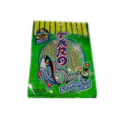6pcs. Taro Fish Low Fat Snack - Korean Seaweed Flavoured Product of Thailand