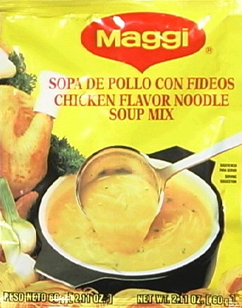 Maggi Chicken Flavor Noodle Soup Mix, 2.11 oz