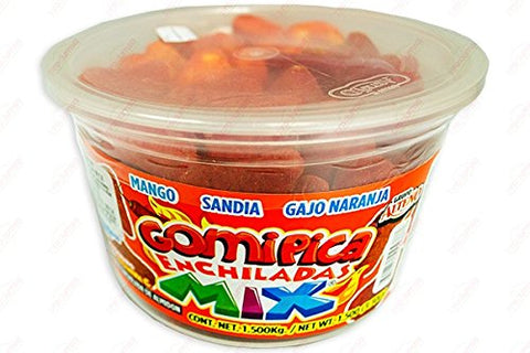 2 x Grupo Alteño GOMITAS MIX PICANTES - Mix jelly Beans Candy 1.5 KG Made in Mexico