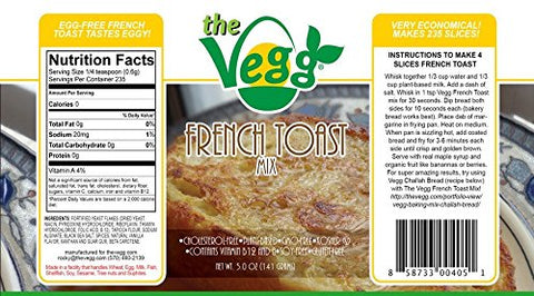 The Vegg Vegan French Toast Mix 5 Oz (12 Pack)