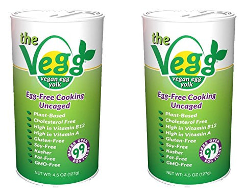 The Vegg Vegan Egg Yolk 4.5 Oz (12 Pack)