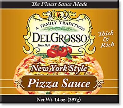 Del Grosso NY Style Pizza Sauce - 12 Pack