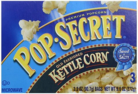 Pop Secret Kettle Corn Popcorn - 9.6 oz