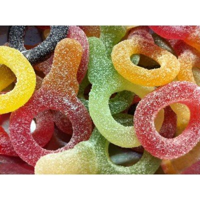 Haribo Giant Sour Suckers/ Giant Sour Dummies x 10