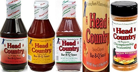 Head Country Bar-B-Q Combo Pack Assorted Flavors