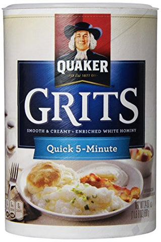 Quaker Grits Quick Tube - 24 oz