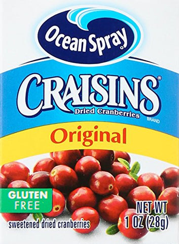 Craisins Original Sweetened Dried Cranberries, 1 Ounce * 6 Pack