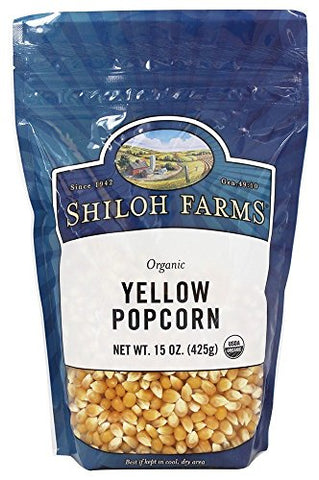 Shiloh Farms - Organic Yellow Popcorn - 15 oz.