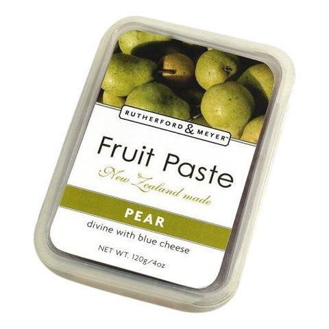 Rutherford and Meyer Fruit Paste, Pear, 4.2-Ounce Containers (Pack of 4)