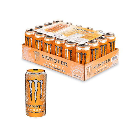 Monster Energy Ultra Sunrise Drink, 24 Count