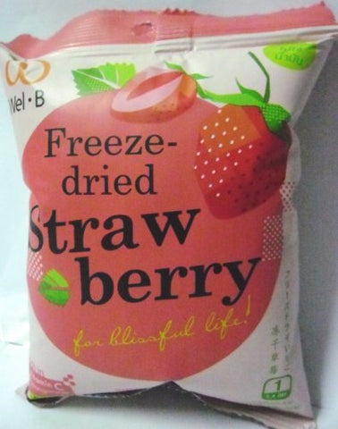 Freeze-dried Strawberry Wel-B (Pack of 6)