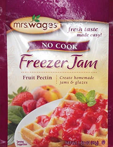 Mrs Wages no Cook Freezer Jam, Fruit Pectin, 1.59 Ounce