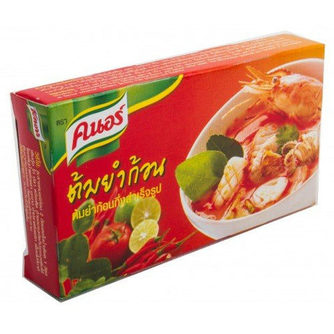 Knorr Thai Tom Yum Seasonings 72 G. (6 Cubes in 1 package)