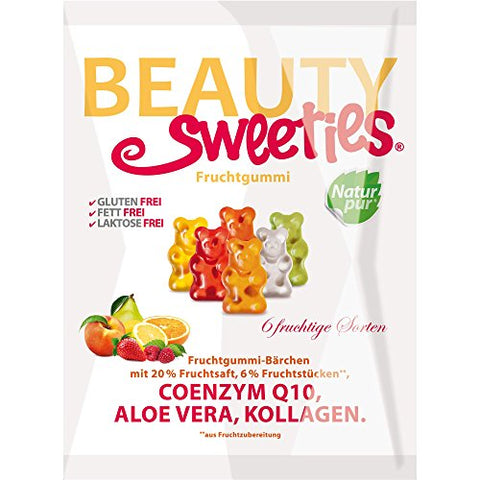 BeautySweeties Fat-free fruit jelly bears (2 x 125g)